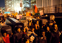 Protests against Police Violence in New York City Cross the Broo
