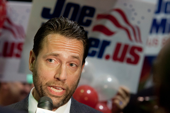 US Senatorial Candidate Joe Miller in 2010