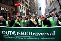 Out@NBCUniversal - First LGBT Group in St. Patrick's Day March - for the Village Voice
